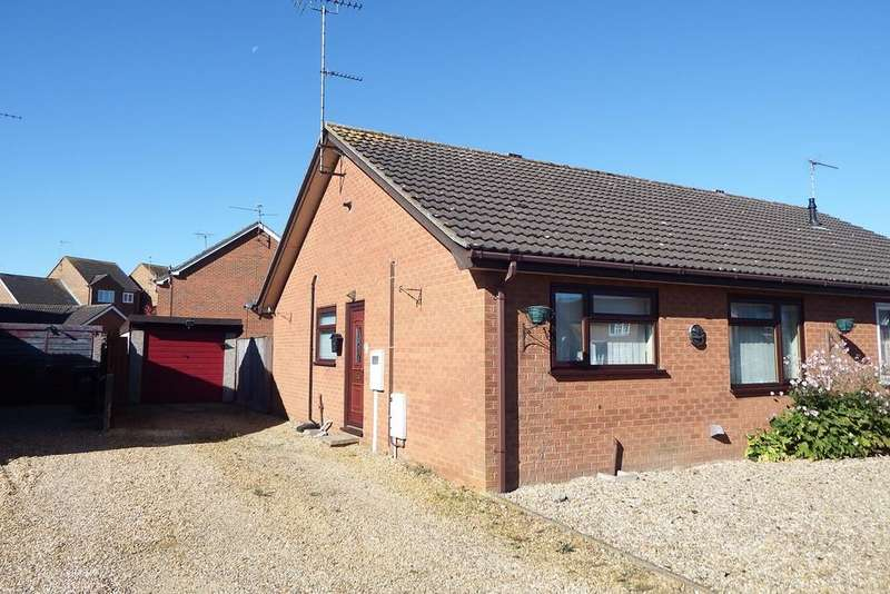 2 Bedrooms Semi Detached Bungalow for sale in St William Court, Holbeach, PE12