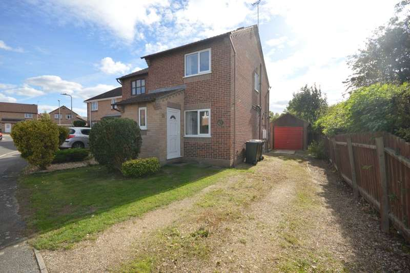 2 Bedrooms Semi Detached House for sale in Adelaide Close, Waddington, Lincoln, LN5