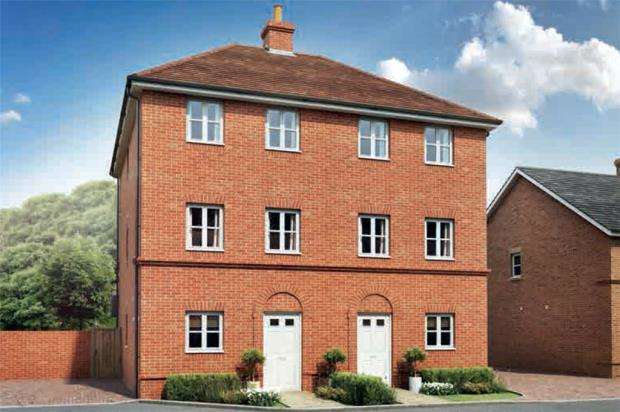 4 Bedrooms Semi Detached House for sale in Oakham Park, Old Wokingham Road, Crowthorne