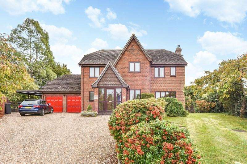 5 Bedrooms Detached House for sale in Ox Drove Rise, Picket Piece, Andover