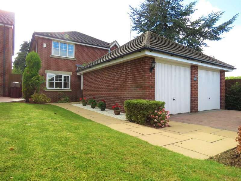 4 Bedrooms Detached House for sale in Rowbrook Close, Majors Green