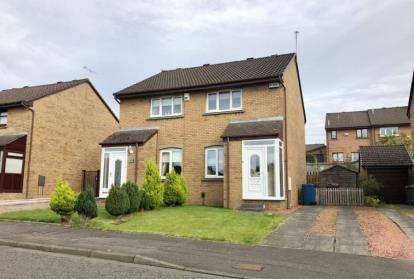 2 Bedrooms Semi Detached House for sale in Micklehouse Road, Springhill, Baillieston, Glasgow
