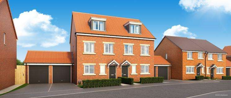 3 Bedrooms Town House for sale in Hampton Green, Coxhoe, Durham