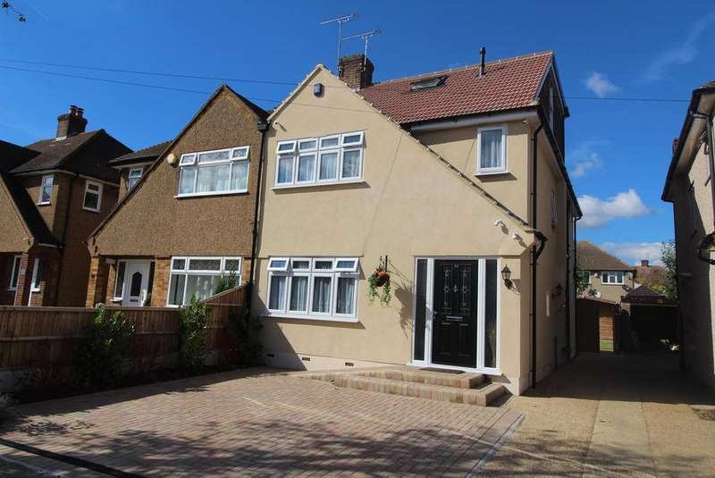 5 Bedrooms Semi Detached House for sale in Trent Avenue, Upminster, Essex, RM14