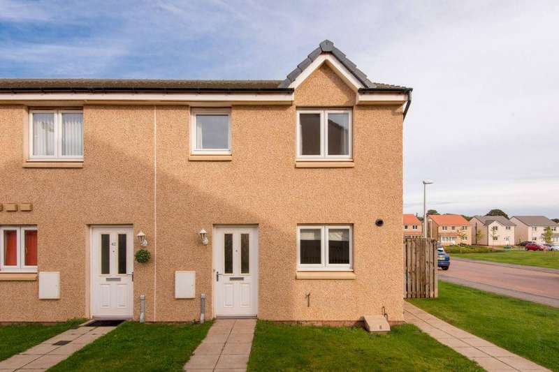 3 Bedrooms End Of Terrace House for sale in 43 Fairbairn Way, Dunbar, EH42 1WQ