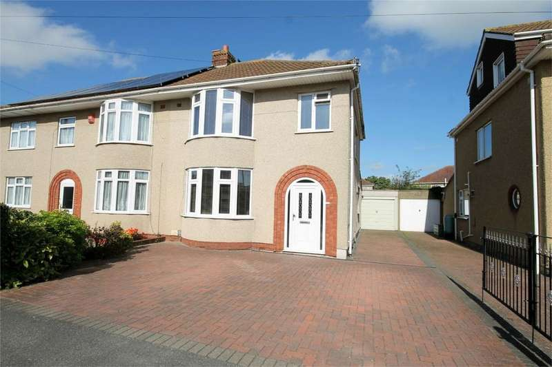 3 Bedrooms Semi Detached House for sale in Quakers Road, Downend, Bristol