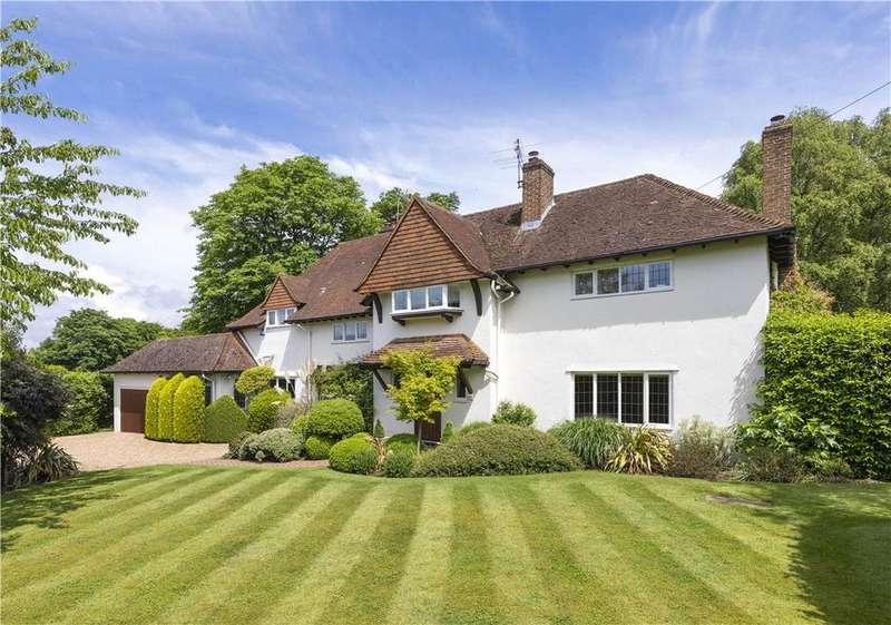 4 Bedrooms Detached House for sale in Wix Hill, West Horsley, Leatherhead, Surrey, KT24