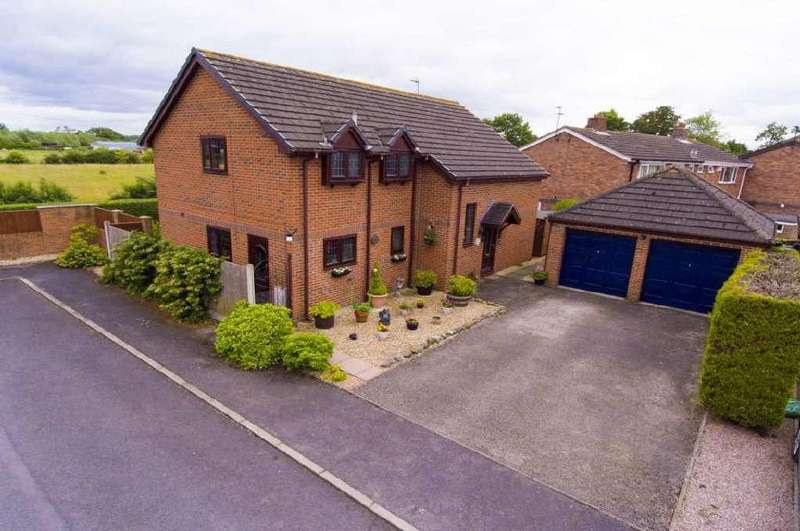 4 Bedrooms Detached House for sale in Emral Court, Worthenbury