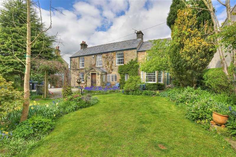 3 Bedrooms Detached House for sale in Haddon Cottage, Gorse Bank Lane, Baslow, Derbyshire, DE45