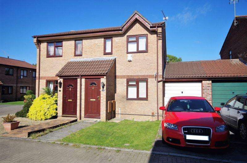 2 Bedrooms Semi Detached House for sale in Hawthorn Close, Patchway, Bristol