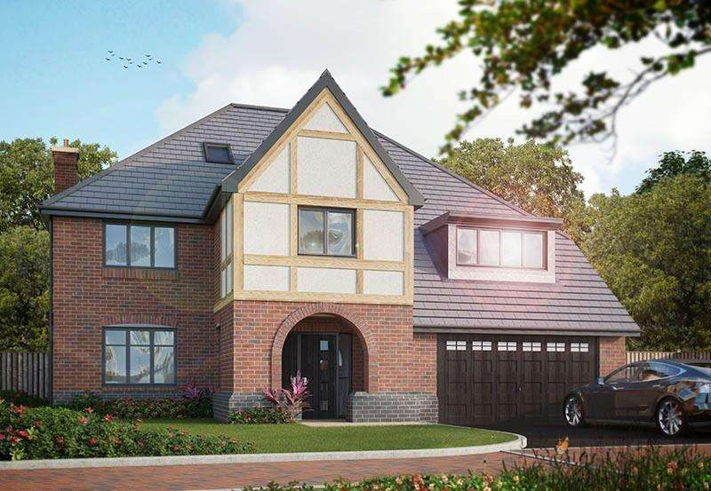 5 Bedrooms Detached House for sale in Hillhouse Court, off New Road, Wingerworth