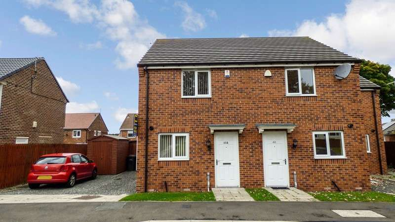 2 Bedrooms Property for sale in Fairbairn Road, Peterlee, Peterlee, Durham, SR8 5EW