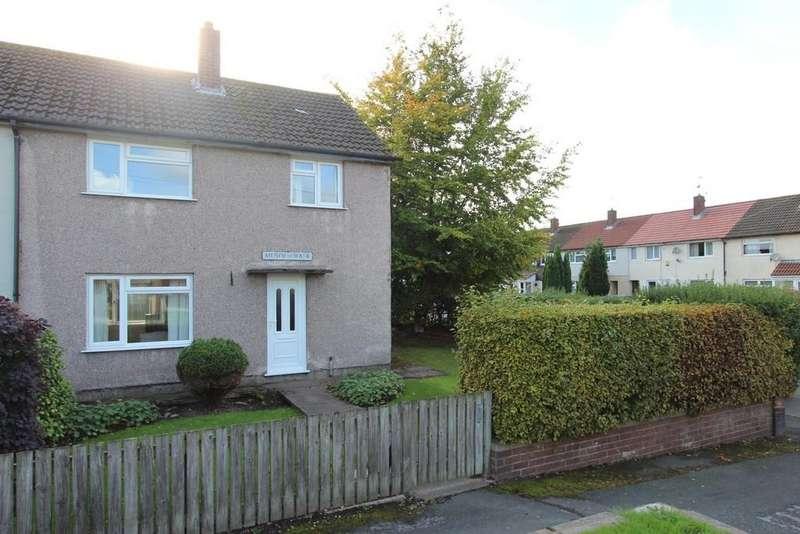 3 Bedrooms End Of Terrace House for sale in Musden Walk, Heaton Chapel