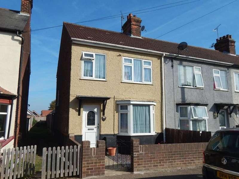 3 Bedrooms End Of Terrace House for sale in CLARKES ROAD, Dovercourt, HARWICH CO12