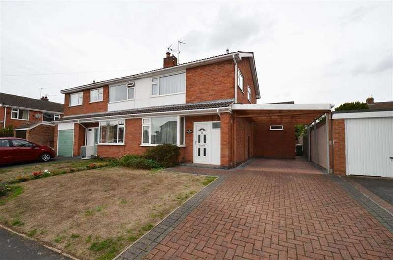 3 Bedrooms Semi Detached House for sale in Beaumont Road, Barrow Upon Soar