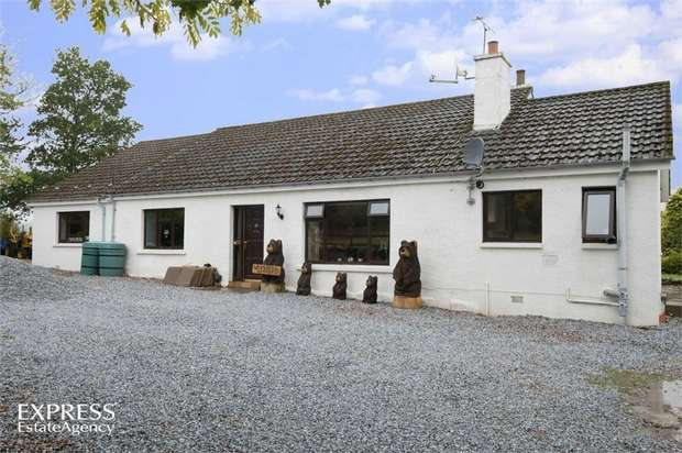 4 Bedrooms Detached Bungalow for sale in Ruthven, Huntly, Aberdeenshire