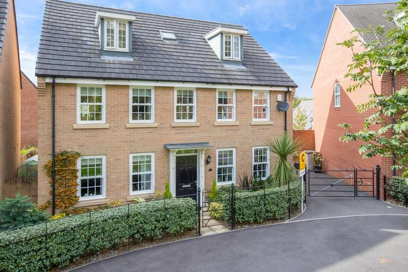 5 Bedrooms Detached House for sale in Beacon Drive, Newton Abbot