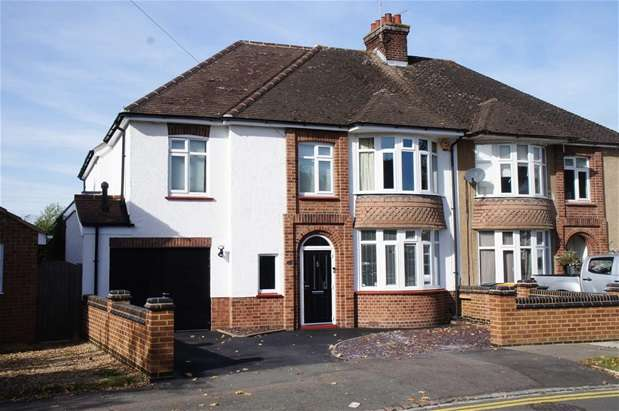 4 Bedrooms Semi Detached House for sale in Byron Crescent, Bedford
