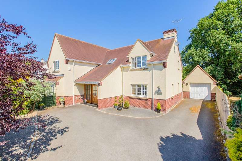 4 Bedrooms Detached House for sale in Longdown, Exeter, Devon