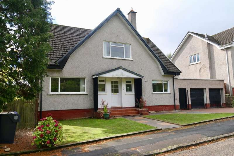 4 Bedrooms Detached House for sale in 3 Campsie View Drive, Blanefield, GLASGOW, G63 9JE