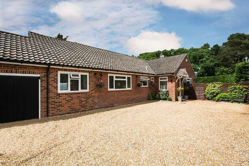 4 Bedrooms Detached Bungalow for sale in Church Road, Mortimer West End, Reading, RG7 2HZ