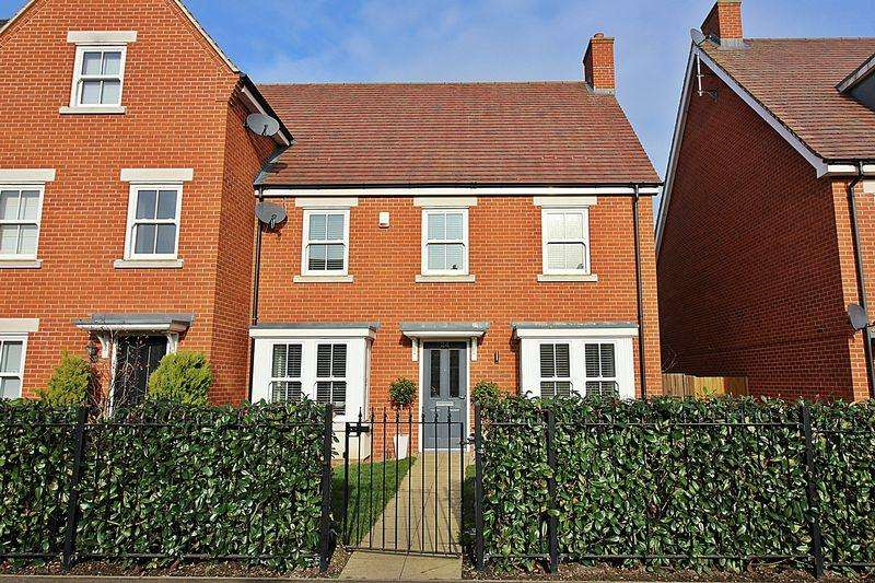 4 Bedrooms Semi Detached House for sale in Planets Way, Biggleswade