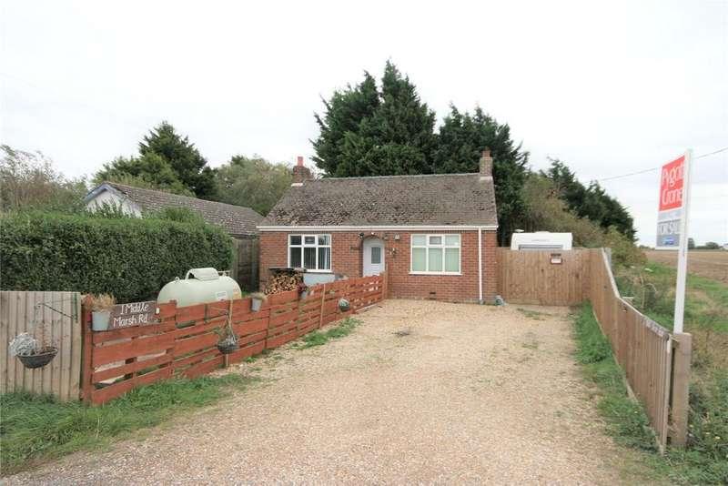 2 Bedrooms Detached Bungalow for sale in Middle Marsh Road, Moulton Marsh, PE12