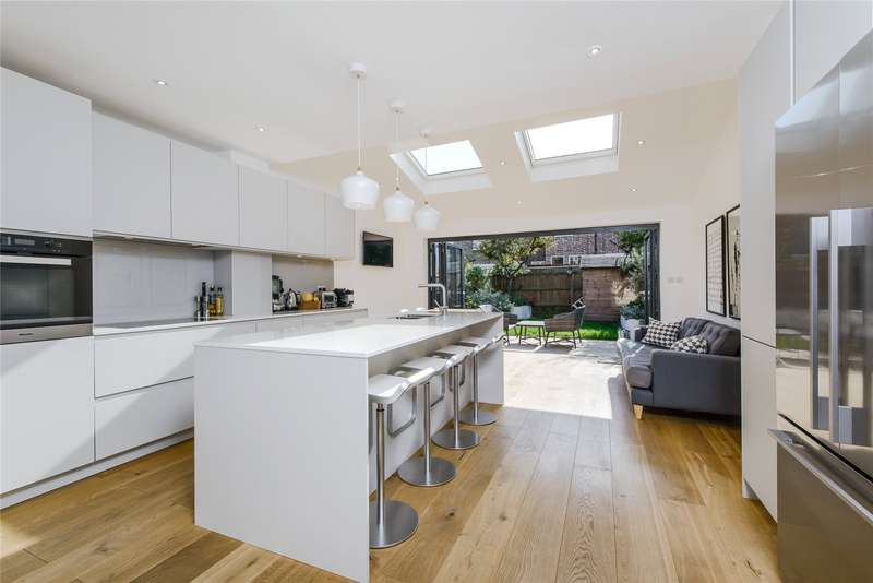4 Bedrooms End Of Terrace House for sale in Ashen Grove, Southfields, London, SW19