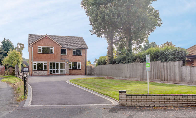 4 Bedrooms Detached House for sale in Bromsgrove Road, Webheath, Redditch, B97 4NH