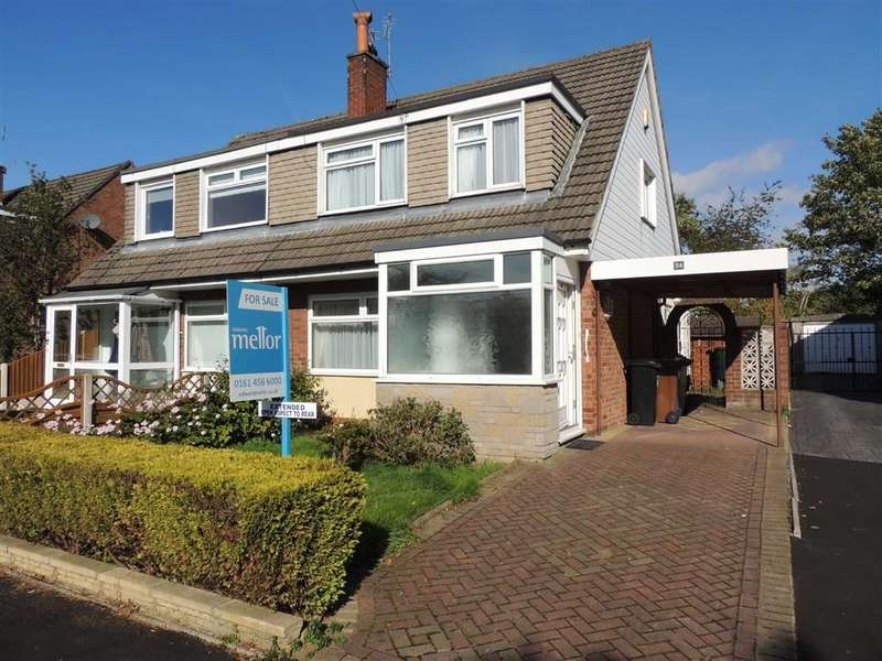 3 Bedrooms Semi Detached House for sale in Corfe Crescent, Hazel Grove, Stockport