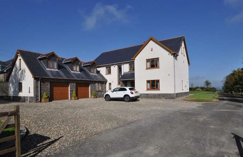 4 Bedrooms Farm House Character Property for sale in Dolau Taf, Cross Inn, Laugharne SA33 4QS