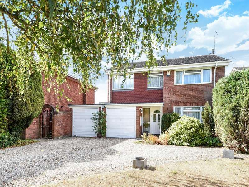 4 Bedrooms Detached House for sale in Elizabeth Rout Close, Spencers Wood, Reading, RG7
