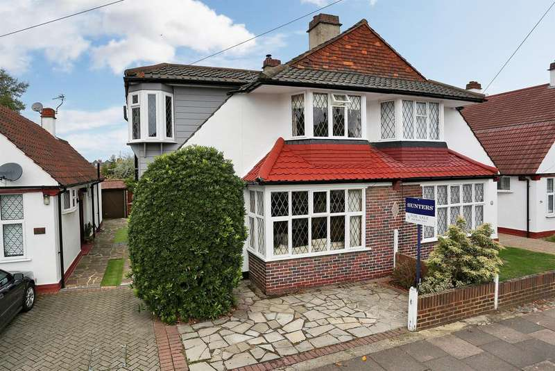 5 Bedrooms Semi Detached House for sale in Crombie Road, Sidcup, Kent, DA15 8AU