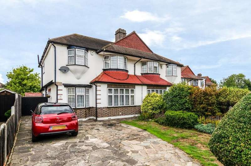 4 Bedrooms Semi Detached House for sale in Harland Avenue, Sidcup, DA15 7PA