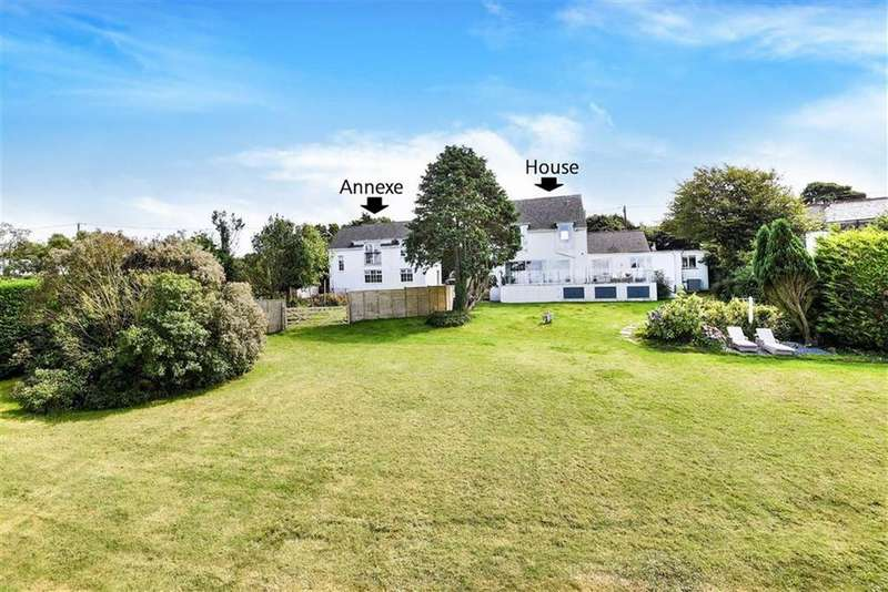 4 Bedrooms Detached House for sale in Pendoggett, St Kew, Bodmin, Cornwall, PL30