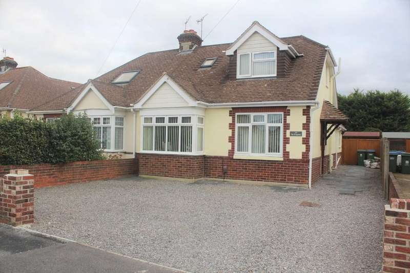 4 Bedrooms Semi Detached Bungalow for sale in The Kingsway, Portchester