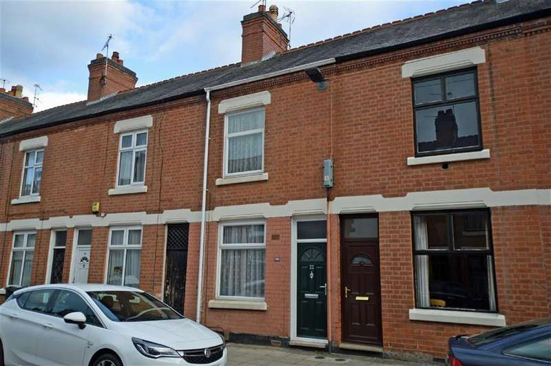 2 Bedrooms Terraced House for sale in Bolton Road, Off Glenfield Road
