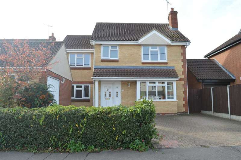 4 Bedrooms Detached House for sale in School Lane, Broomfield, Chelmsford