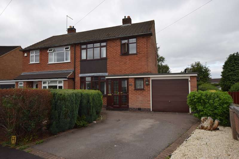 3 Bedrooms Semi Detached House for sale in Sunnyside, Hinckley LE10