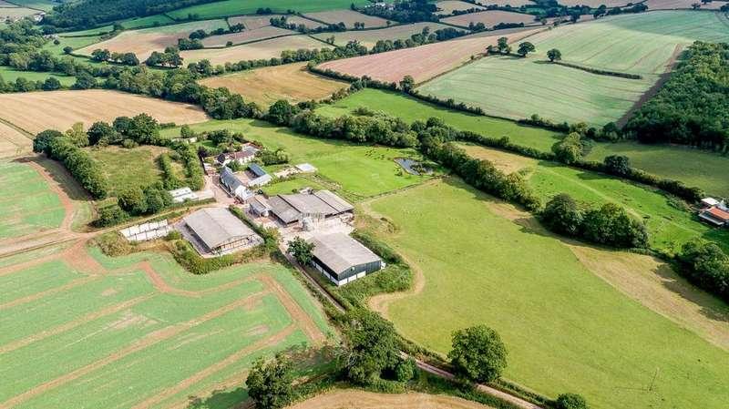 Farm Commercial for sale in Portfolio of Land and Farms, Crediton, Devon