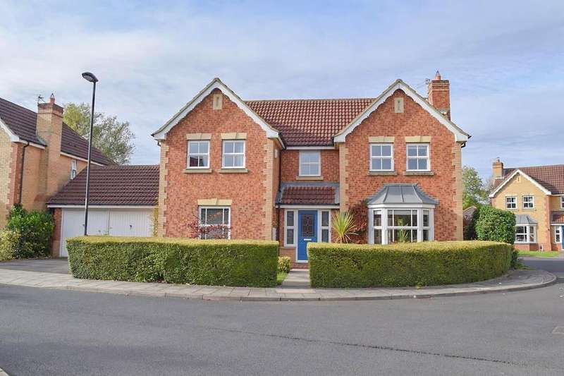 4 Bedrooms Detached House for sale in Roundstone Close, Haydon Grange, Newcastle Upon Tyne