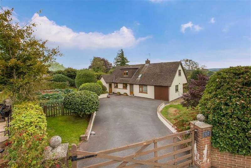 4 Bedrooms Detached House for sale in Higher Westonfields, Totnes, Devon, TQ9