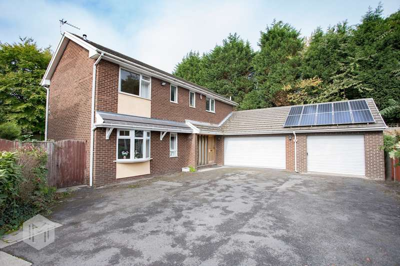 4 Bedrooms Detached House for sale in Dalton Fold, Westhoughton, Bolton, BL5