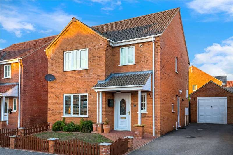 3 Bedrooms Detached House for sale in Orchard Close, Great Hale, Sleaford, Lincolnshire, NG34