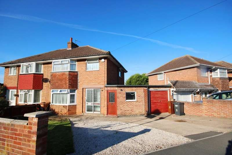 3 Bedrooms Semi Detached House for sale in Wicklow Avenue, Melton Mowbray