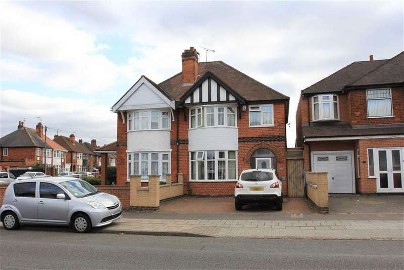 3 Bedrooms Semi Detached House for sale in Chesterfield Road, Evington, Leicester