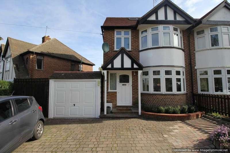 4 Bedrooms Semi Detached House for sale in Borough Way, Potters Bar, EN6