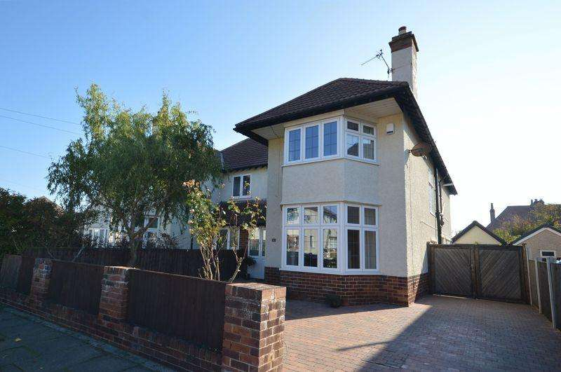 4 Bedrooms Semi Detached House for sale in Beachcroft Road, Meols