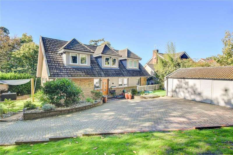4 Bedrooms Detached House for sale in Warren Road, Liss, Hampshire