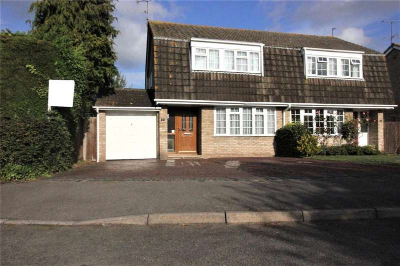 3 Bedrooms Semi Detached House for sale in Richborough Close, Earley, Reading, Berkshire, RG6